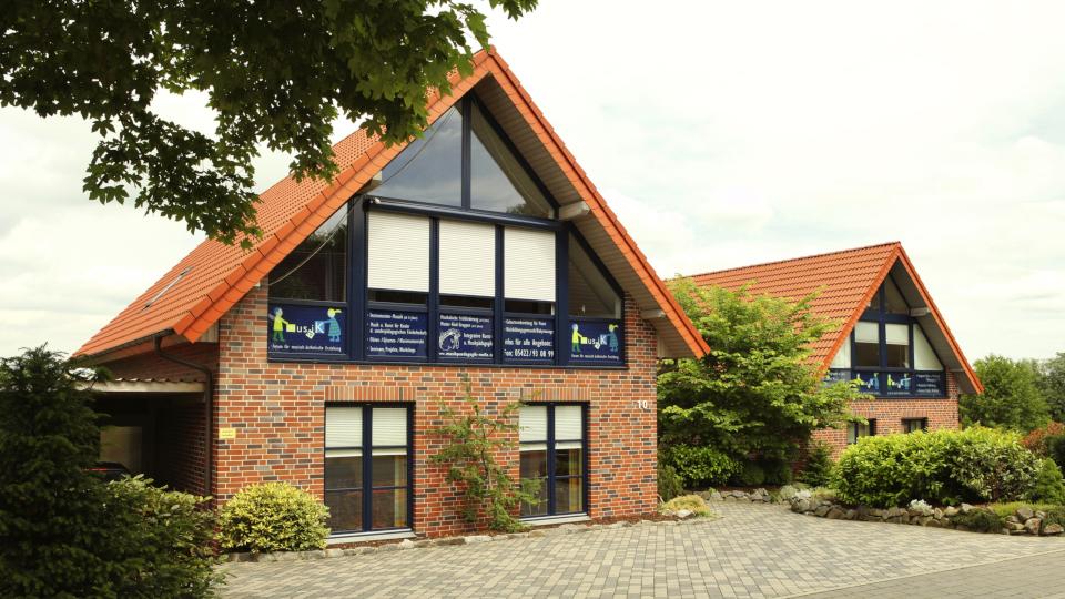 Das Musikschulhaus vom Forum Musaik aus Melle.